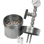 .is designed to be used with 7 standard 10ml vials. Suitable for use with Hotplates and oil baths (NOTE not compatible with HEL Automate and PolyBLOCK mantles)